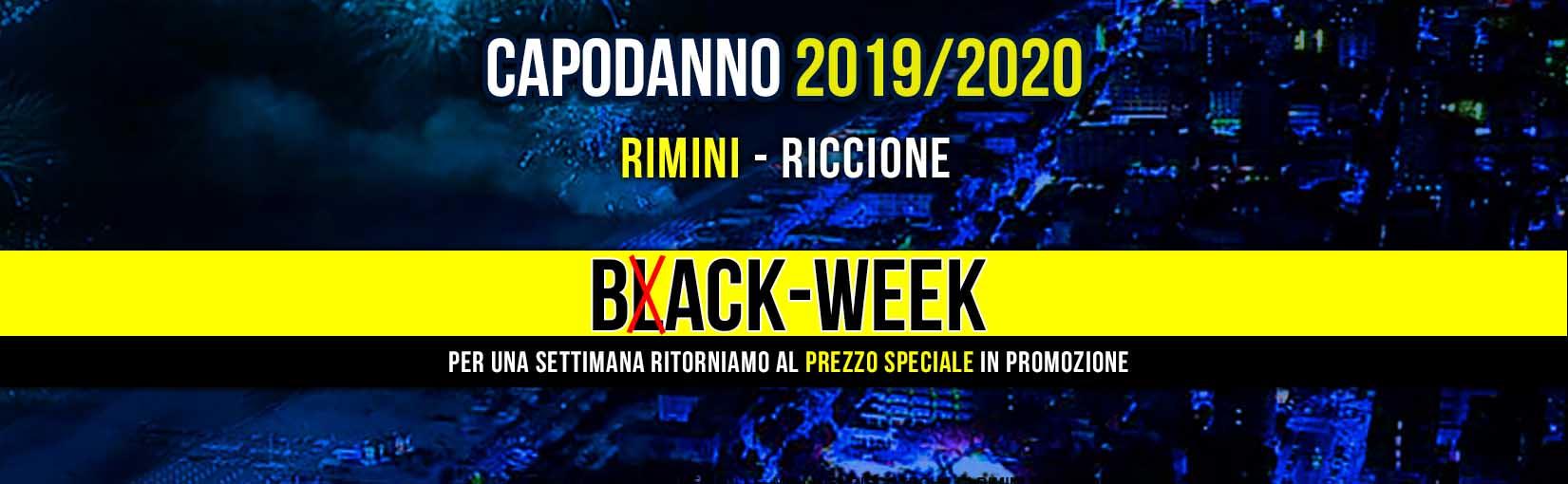 Black Friday Pacchetti Riccione Notte