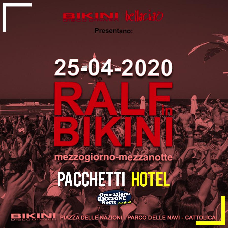 Ralf In Bikini 2020 Cattolica Pacchetti Hotel